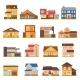 Cottage House Building Set