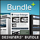 Designers Bundle, Professional photoshop Actions Pack - 3 in 1