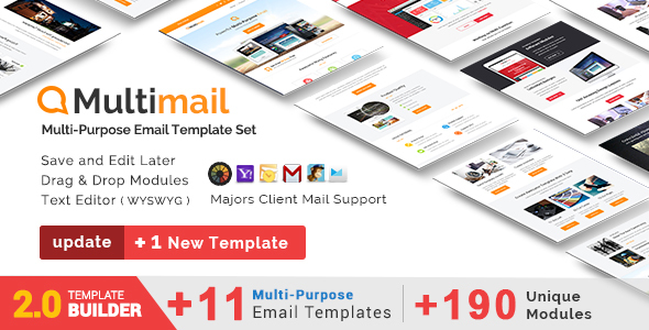 Matty - Responsive Email + MailBuild Online