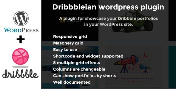 Dribbbleian wordpress plugin - CodeCanyon Item for Sale