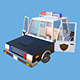 Police vehicle with interior - 3DOcean Item for Sale