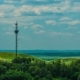 Telecommunications Tower Communications On a Background Of Sky Clouds - VideoHive Item for Sale