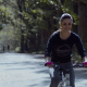 Athletic Young Couple Biking in a Park - VideoHive Item for Sale