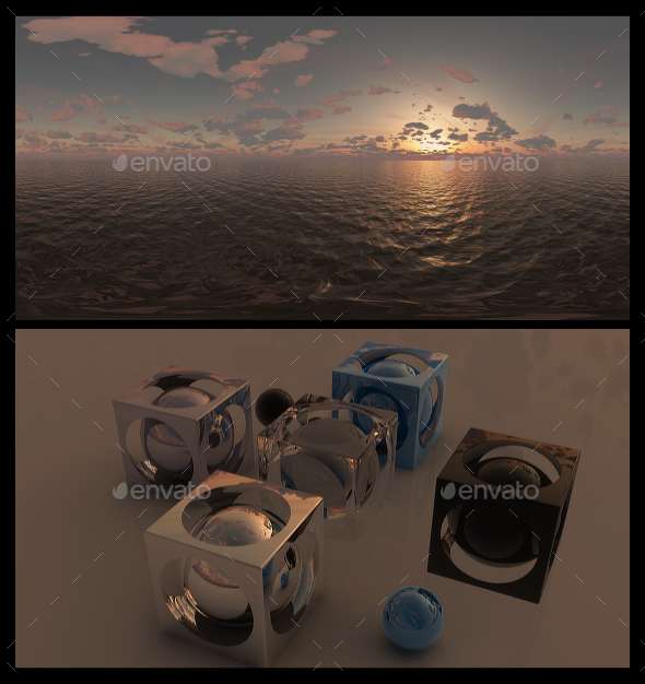 Golden Hour 6 - HDRI - 3DOcean Item for Sale