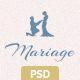 Mariage - Business & Wedding PSD Template