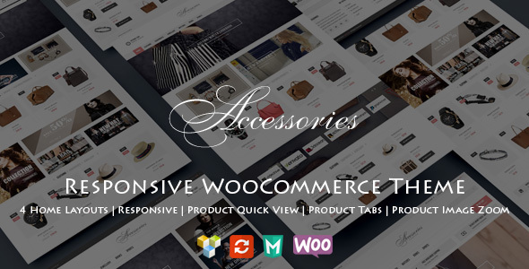 WooAccessories – Responsive WordPress Theme