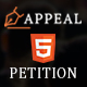 Appeal - Petition HTML5 Template - ThemeForest Item for Sale
