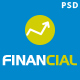 Financial III - Business & Financial PSD Template Nulled