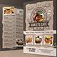 Food / Cafe Menu Flyer  - GraphicRiver Item for Sale