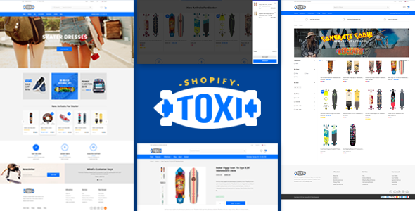 Image of Toxi - Responsive UX Shopify Theme