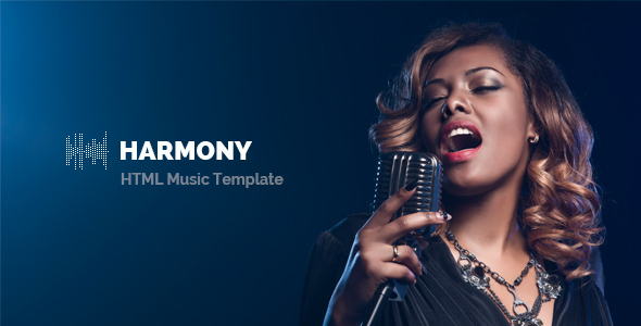 Harmony – Music Template