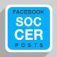 5 Facebook Banners Posts | Soccer Football vol I  - GraphicRiver Item for Sale
