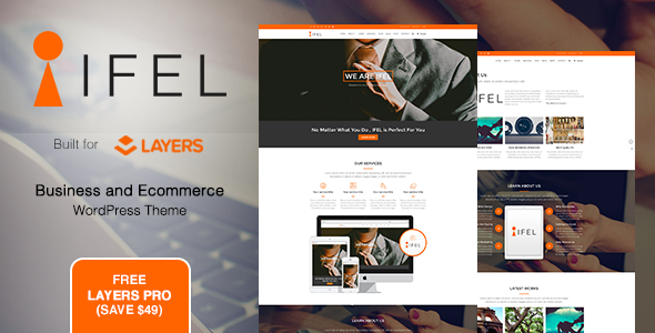IFEL | Business - Ecommerce WordPress theme