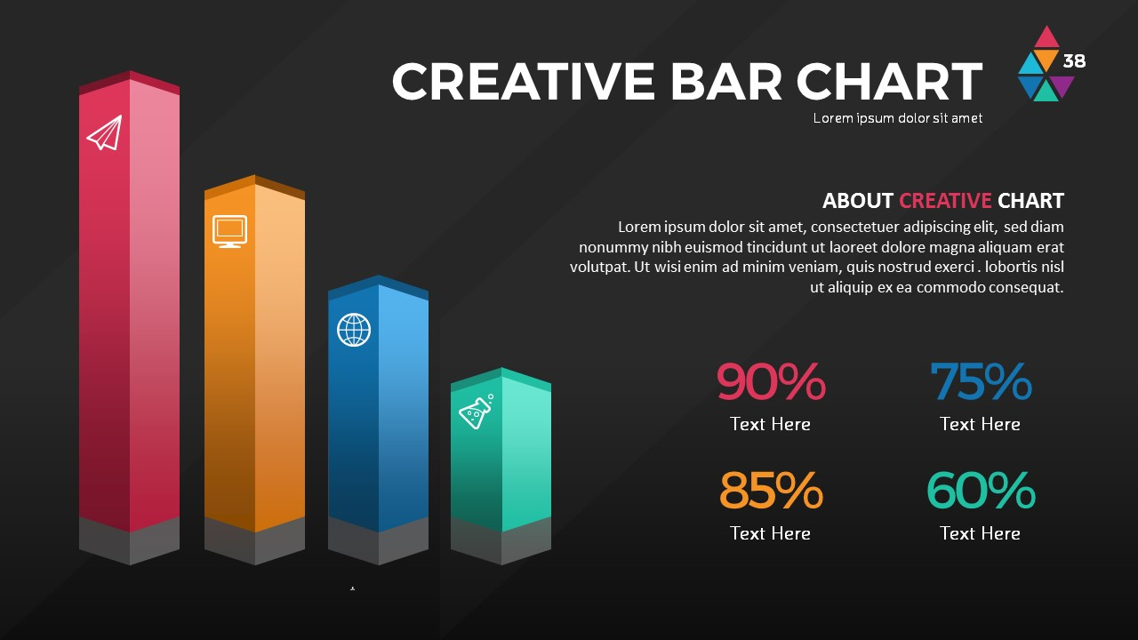 Smart Chart PowerPoint Presentation Template by RRgraph | GraphicRiver
