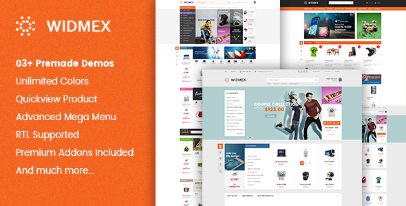 Widmex – Multi-Purpose Premium Responsive Prestashop Theme
