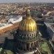 Aerial View Of Isaac's Cathedral In Saint-Petersburg - VideoHive Item for Sale