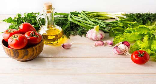 Healthy nutritious organic food Photo