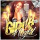 Girls Night Flyer - Template