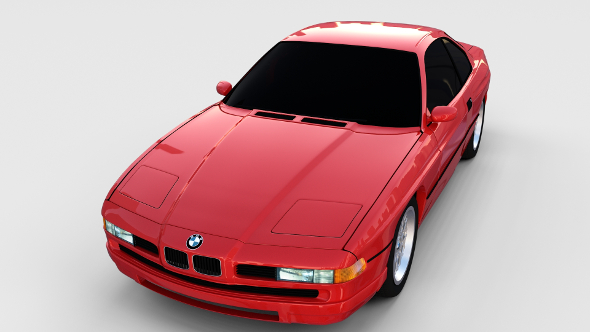 BMW 8 Series E31  rev - 3DOcean Item for Sale