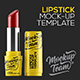Lipstick Mock-up Template - GraphicRiver Item for Sale