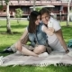 Guy And Girl Make a Selfie On The Picnic - VideoHive Item for Sale