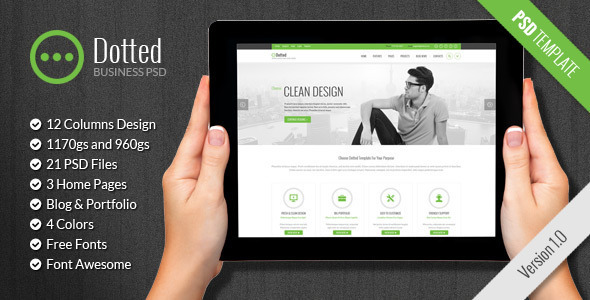 Dotted – Business & Corporate HTML Template