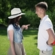 The Guy Make a Surprise For Girlfriend - VideoHive Item for Sale