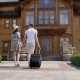 The Guy With Girl Go To The Hotel - VideoHive Item for Sale