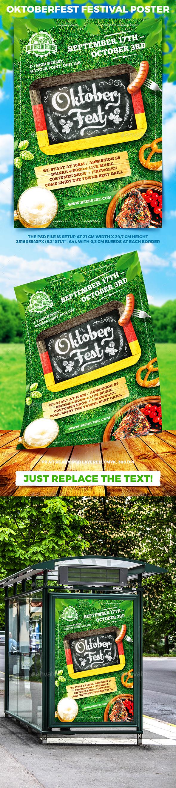 Oktoberfest Festival Poster vol.6 - Holidays Events