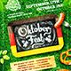 Oktoberfest Festival Poster vol.6