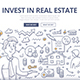 Real Estate Investment Doodle Concept - GraphicRiver Item for Sale