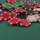 Poker Chips Falling Down On The Poker Table - VideoHive Item for Sale