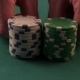 Poker Player Moves Chips On Table At Casino. Casino Chips - VideoHive Item for Sale