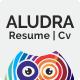 Aludra - Resume & Cv - GraphicRiver Item for Sale