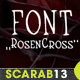 Handmade Font RosenCross - GraphicRiver Item for Sale
