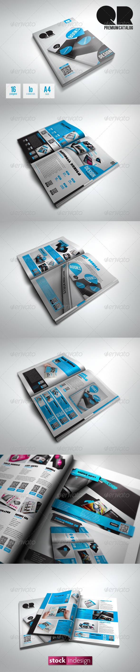QR Flexible Product Catalog Premium - Catalogs Brochures