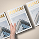 A5 Foil Stamping Magazine Mock-Up - GraphicRiver Item for Sale