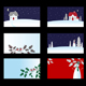 Set of christmas cards - GraphicRiver Item for Sale