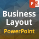 Business Layout PowerPoint Presentation Template - GraphicRiver Item for Sale