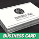 Pampurred Paws Cat Groomer Business Card - GraphicRiver Item for Sale