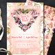 Vintage Floral Wedding Invitation Suite - GraphicRiver Item for Sale