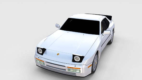 Porsche 944 S2 rev - 3DOcean Item for Sale