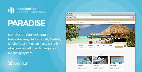 IT Paradise - Gantry 5, Hotel & Booking Joomla Template - Travel Retail