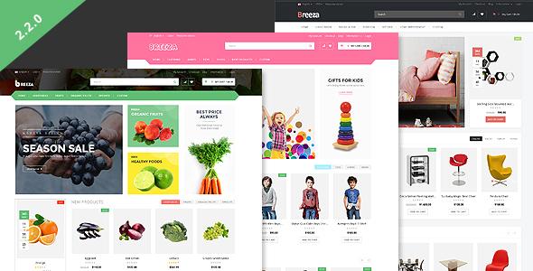 Breeza – Responsive OpenCart Theme