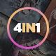 4 in 1 Stunning Actions Bundle CS3+