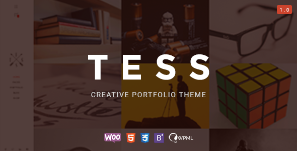 TESS – Creative Portfolio WordPress Theme