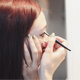 Beautiful Girl Does Morning Makeup - VideoHive Item for Sale