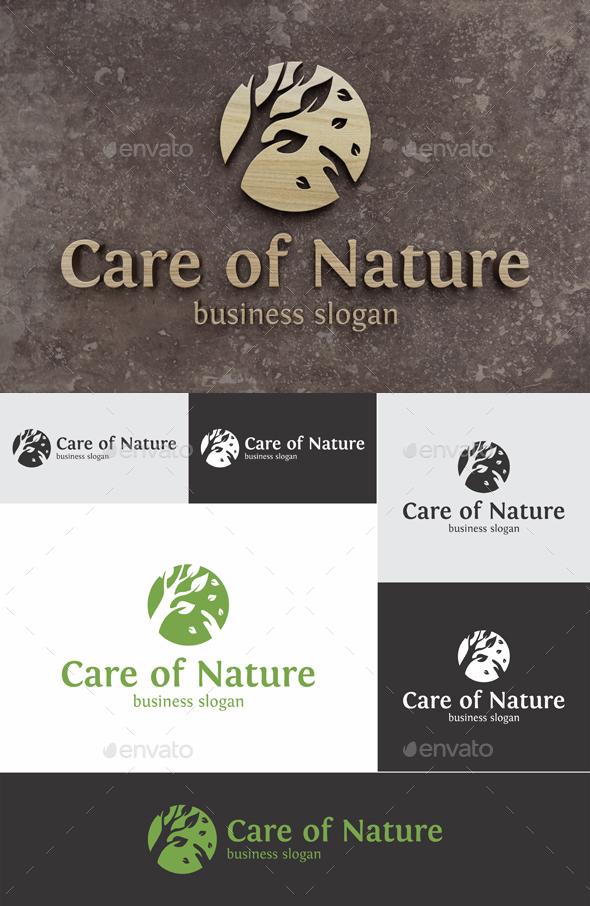Care of Nature Logo - Nature Logo Templates