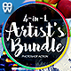 4-in-1 Artist's Bundle Photoshop Action - GraphicRiver Item for Sale