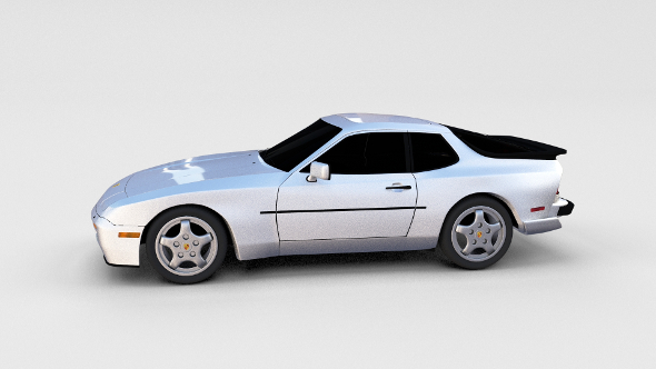 Porsche 944 Turbo S rev - 3DOcean Item for Sale